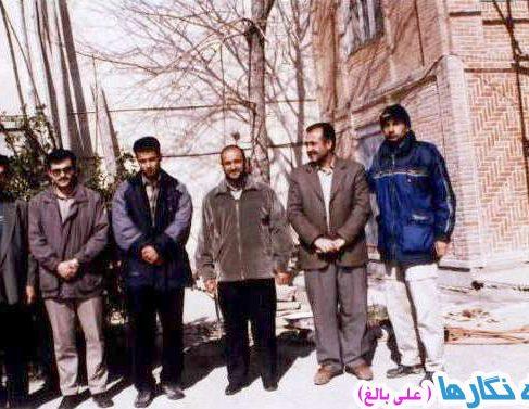 ۱۵- مطالعات و هیات بررسی باستانشناختی بناب Members of the Bonab Survey Team, 2002