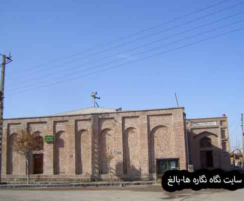 مسجد جامع ازویش بناب  Mosque, village of Ezovish, Bonab
