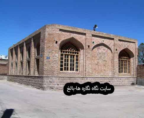 مسجد کبود (گؤی مسجد) Kabood Mosque, Bonab (Safavid period)