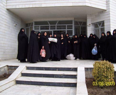 معرفی اعضا ء خیریّه زینبیّه شهرستان بناب :  Ladies of Zeynabiyeh Charitable Institute of Bonab