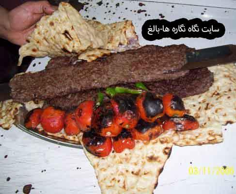 کباب سنّتی بناب   و صنعت گردشگری. :  Skewering and Cooking the Traditional Kebab of Bonab