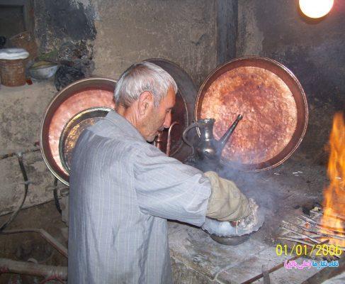 غرفه صنعت مسگری ، موزه مردم شناسی بناب  :   Sahand Ethnological Museum of Bonab