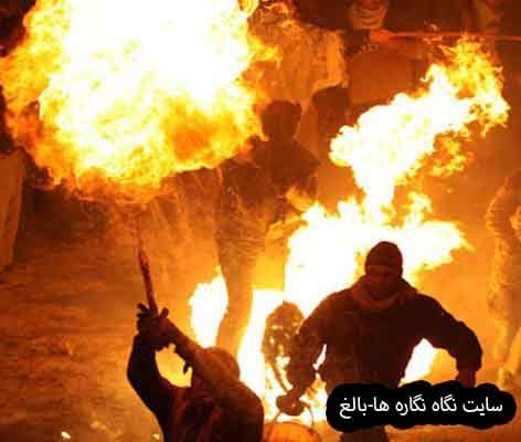 پولکه بایرامی یا عید مشعل گردانی ( آیین های تاریخی در بناب)