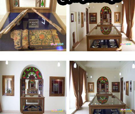 هنر و زیبایی در نگاره های روی چوب مساجد تاریخی بناب( موزه صفوی )