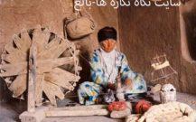 دستگاه سنتی میل پنبه  ( از اشیاء موزه ی مردم شناسی جنوب سهند بناب )